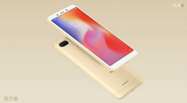 Xiaomi Redmi 6 Launched with Face Unlock and Dual Rear Camera